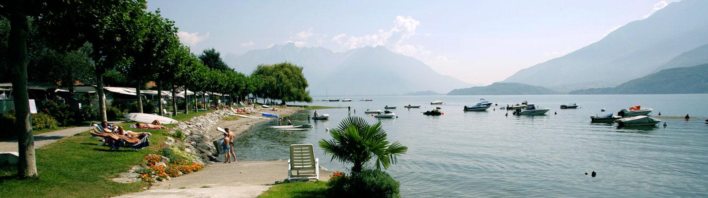 ... - Campeggi Lago di Como Campeggio Dongo Gravedona Como Lake Como See